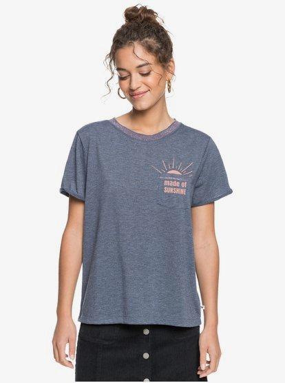 Breezy Ocean - T-shirt pour Femme - Bleu - Roxy