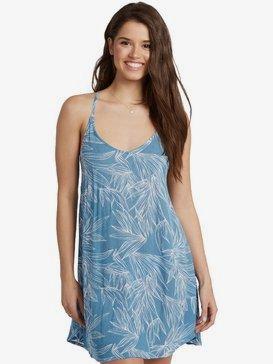 록시 비치 드레스 Roxy Be In Love Strappy Dress for Women,BLUE HEAVEN HEART OF PALMS (blf6)