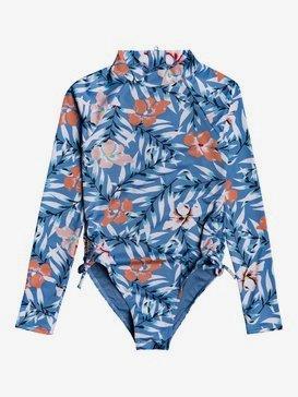록시 UPF 50 여아용 8-16 원피스 수영복 세트 Chase Your Dream Long Sleeve One-Piece Swimsuit,BLUE HEAVEN PARDEE S (blf9)
