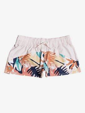 록시 보드숏 Roxy Catch A Wave Boardshorts,PEACH Blush LUSH BRIGHT SKIES S (mdt6)