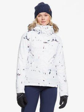 록시 스노우 자켓 보드복 Roxy Jet Ski Snow Jacket,BRIGHT WHITE ON PISTE
