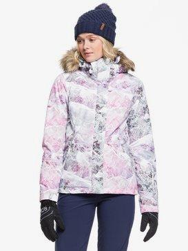 록시 스노우 자켓 보드복 Roxy Jet Ski Snow Jacket,BRIGHT WHITE MYSTERIOUS VIEW