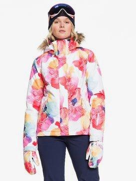 록시 스노우 자켓 보드복 Roxy Jet Ski Snow Jacket,BRIGHT WHITE AQUAREL FLOWERS