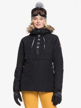 록시 스노우 자켓 스키복 Roxy Shelter Snow Jacket,TRUE BLACK