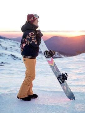 록시 스노우 자켓 스키복 Roxy Torah Bright Summit - Snow Jacket,TRUE BLACK MAGNOLIA