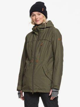 록시 스노우 자켓 스키복 Roxy Stated Snow Jacket,IVY GREEN