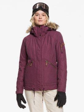 록시 스노우 자켓 스키복 Roxy Meade Snow Jacket,GRAPE WINE
