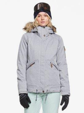 록시 스노우 자켓 스키복 Roxy Meade Snow Jacket,HEATHER GREY