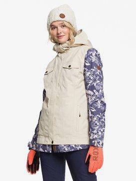 록시 스노우 자켓 보드복 Roxy Ceder Snow Jacket,MID DENIM BLEACHED FLOWERS