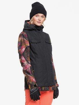 록시 스노우 자켓 보드복 Roxy Ceder Snow Jacket,TRUE BLACK NIGHT PALM