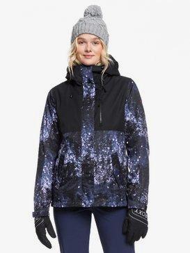 록시 스노우 자켓 보드복 Roxy ROXY Jetty 3-in-1 Snow Jacket,MEDIEVAL BLUE SPARKLES