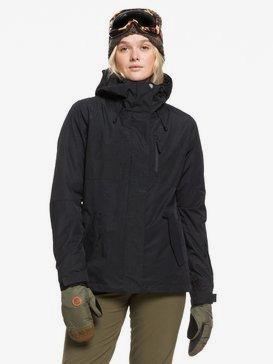 록시 스노우 자켓 보드복 Roxy ROXY Jetty 3-in-1 Snow Jacket,TRUE BLACK