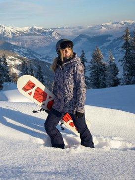록시 스노우 자켓 스키복 고어택스 Roxy Glade 2L GORE-TEX - Snow Jacket,HEATHER GREY BOTANICAL FLOWERS