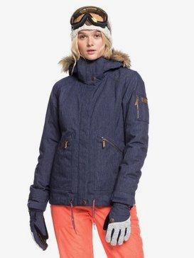 록시 스노우 자켓 스키복 Roxy Meade Denim Snow Jacket,MID DENIM