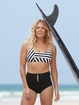록시 네오프렌 하이웨스트 반바지 Roxy 1mm POP Surf High Waist Neoprene Shorts,BLACK (kvd0)
