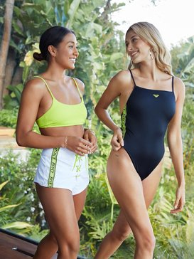 록시 Roxy H and K Sisters One-Piece Swimsuit,ANTHRACITE (kvj0)