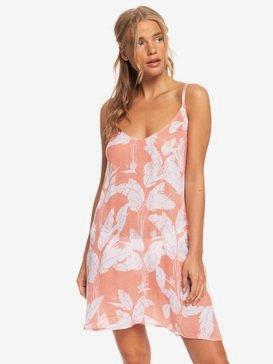록시 비치 드레스 Roxy Be In Love Strappy Beach Dress,TERRA COTTA FLYING FLOWERS S (mjn2)