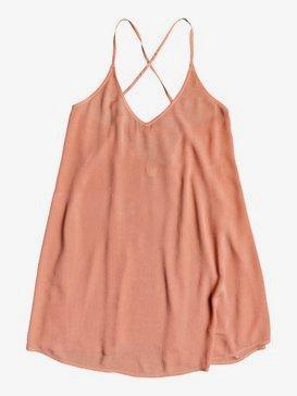 록시 비치 드레스 Roxy Be In Love Strappy Beach Dress,TAWNY ORANGE (mkd0)