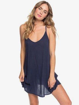 록시 비치 드레스 Roxy Be In Love Strappy Beach Dress,MOOD INDIGO (bsp0)