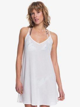 록시 비치 드레스 Roxy Be In Love Strappy Beach Dress,BRIGHT WHITE (wbb0)