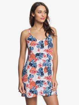 록시 비치 드레스 Roxy Be In Love Strappy Dress,BRIGHT WHITE STANDAR S (wbb6)