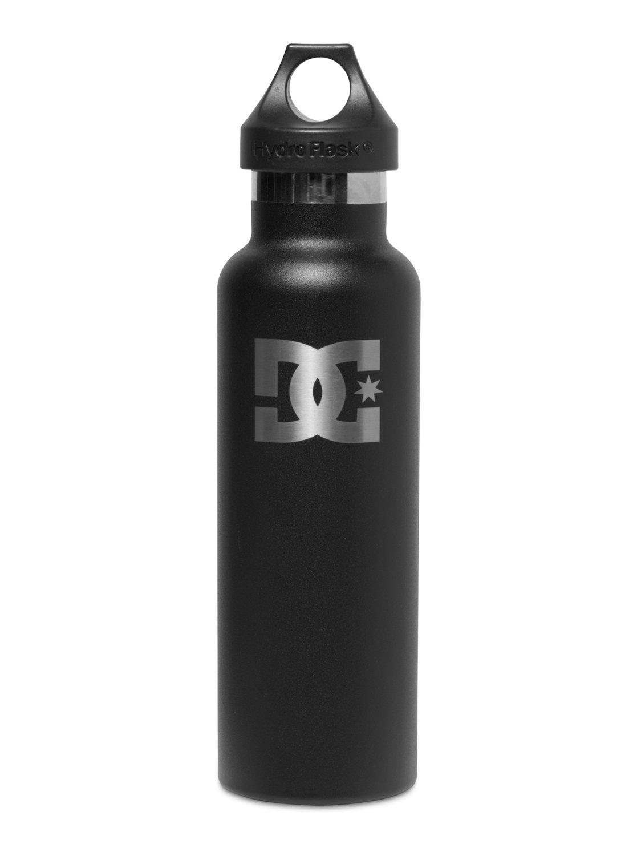 f9224fde9a 0 Hydro Flask 21 OZ Standard Mouth Black Water Bottle CS21001 DC Shoes
