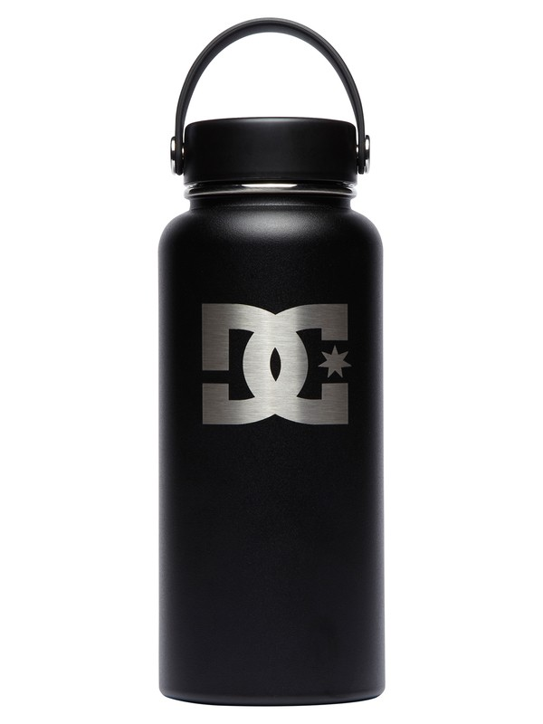 0 32 oz Wide Mouth Hydroflask® Bottle Black CW32TS001 DC Shoes