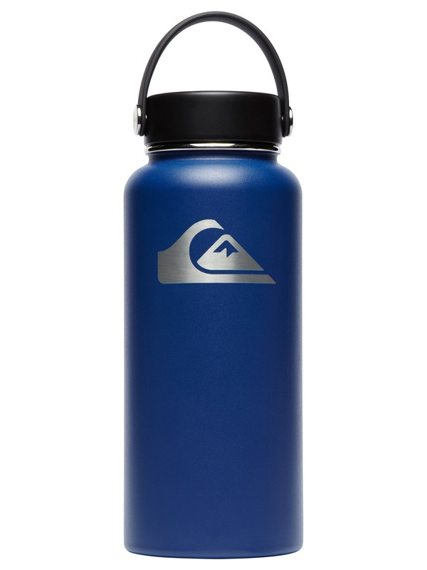 0 32 oz Wide Mouth Hydroflask® Bottle Blue CW32TS407 Quiksilver