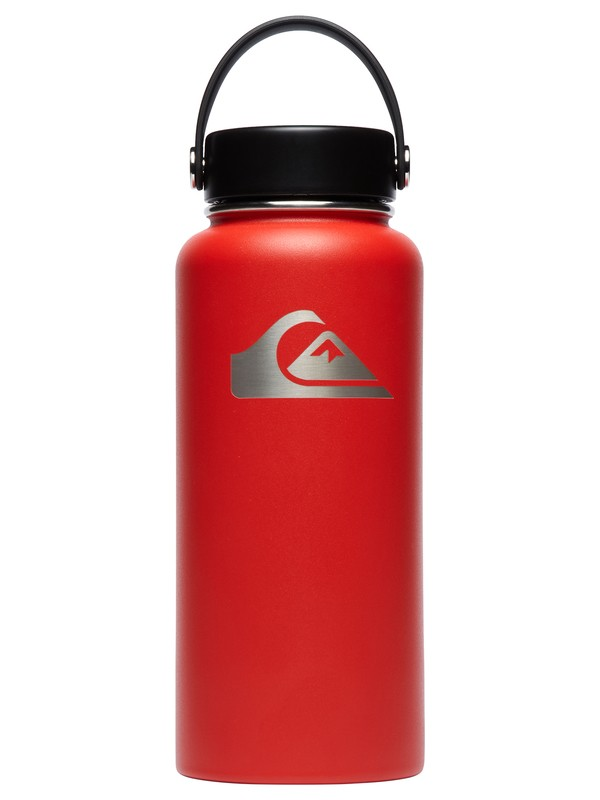 0 32 oz Wide Mouth Hydroflask® Bottle  CW32TS611 Quiksilver