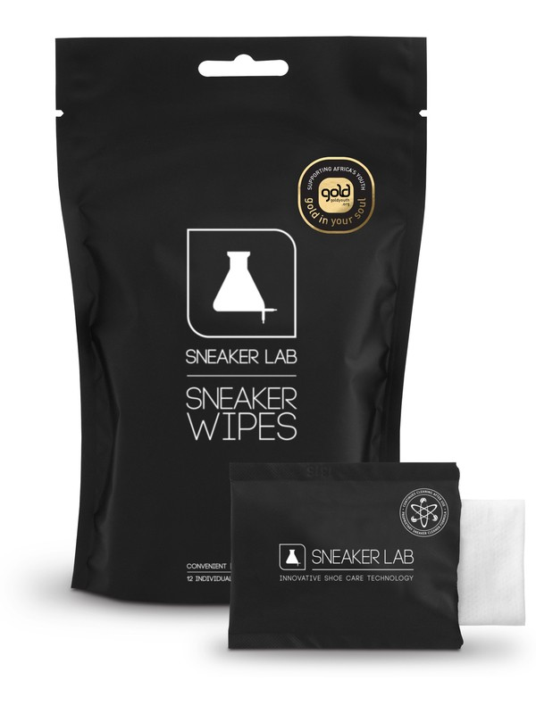 0 Sneakerlab Sneaker Wipes Pack (12) Black SWZ005 DC Shoes