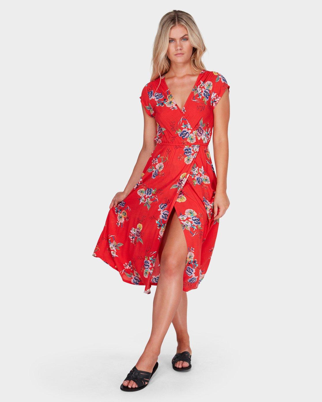 STACY FLORAL DRESS 6581477 | Billabong