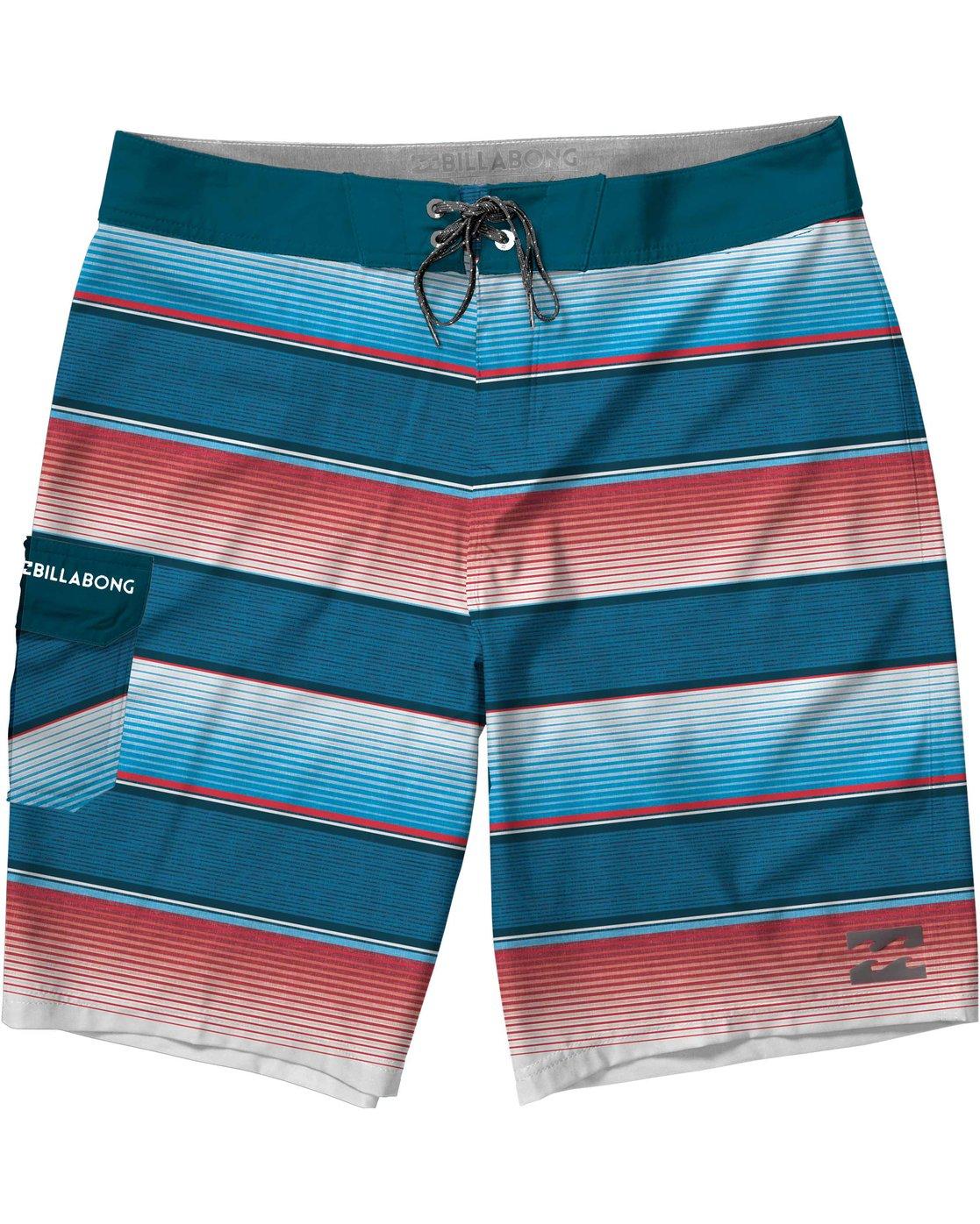 Billabong Boys All Day Stripe Og Boardshort