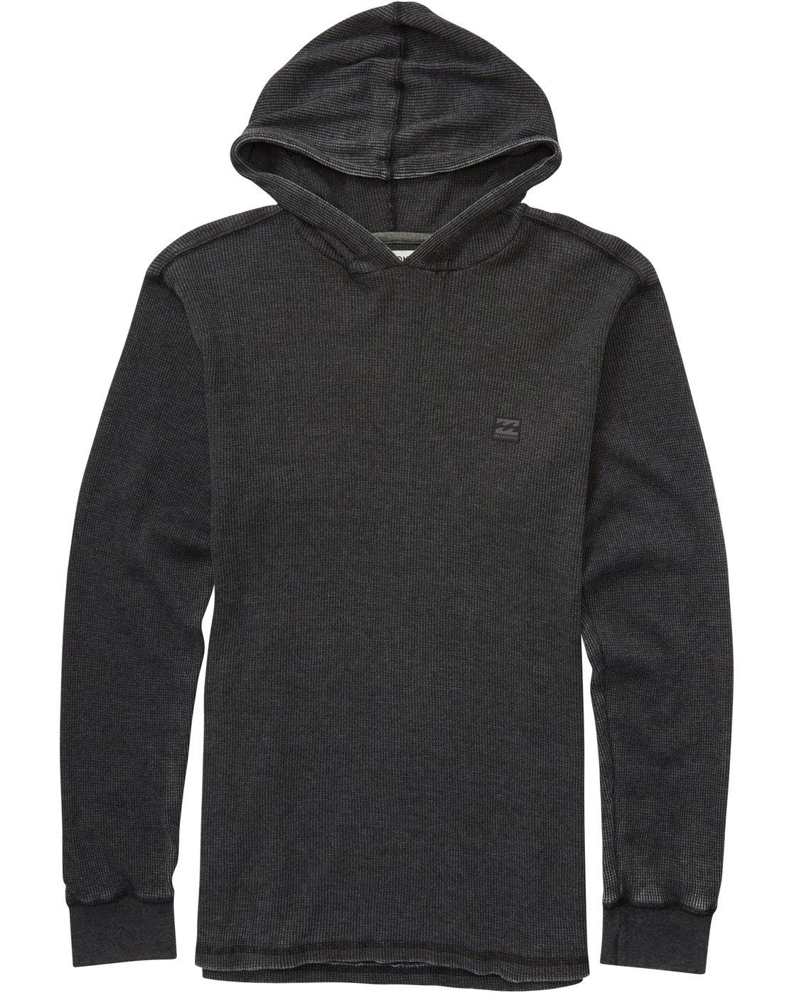 Billabong Keystone Black Pullover Hoodie