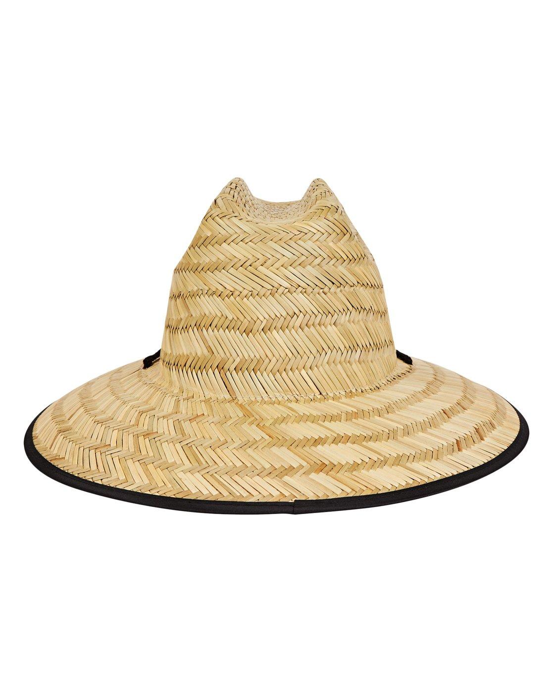 8f6f361795683 3 Boys  Tides Straw Hat Beige BAHWNBTI Billabong