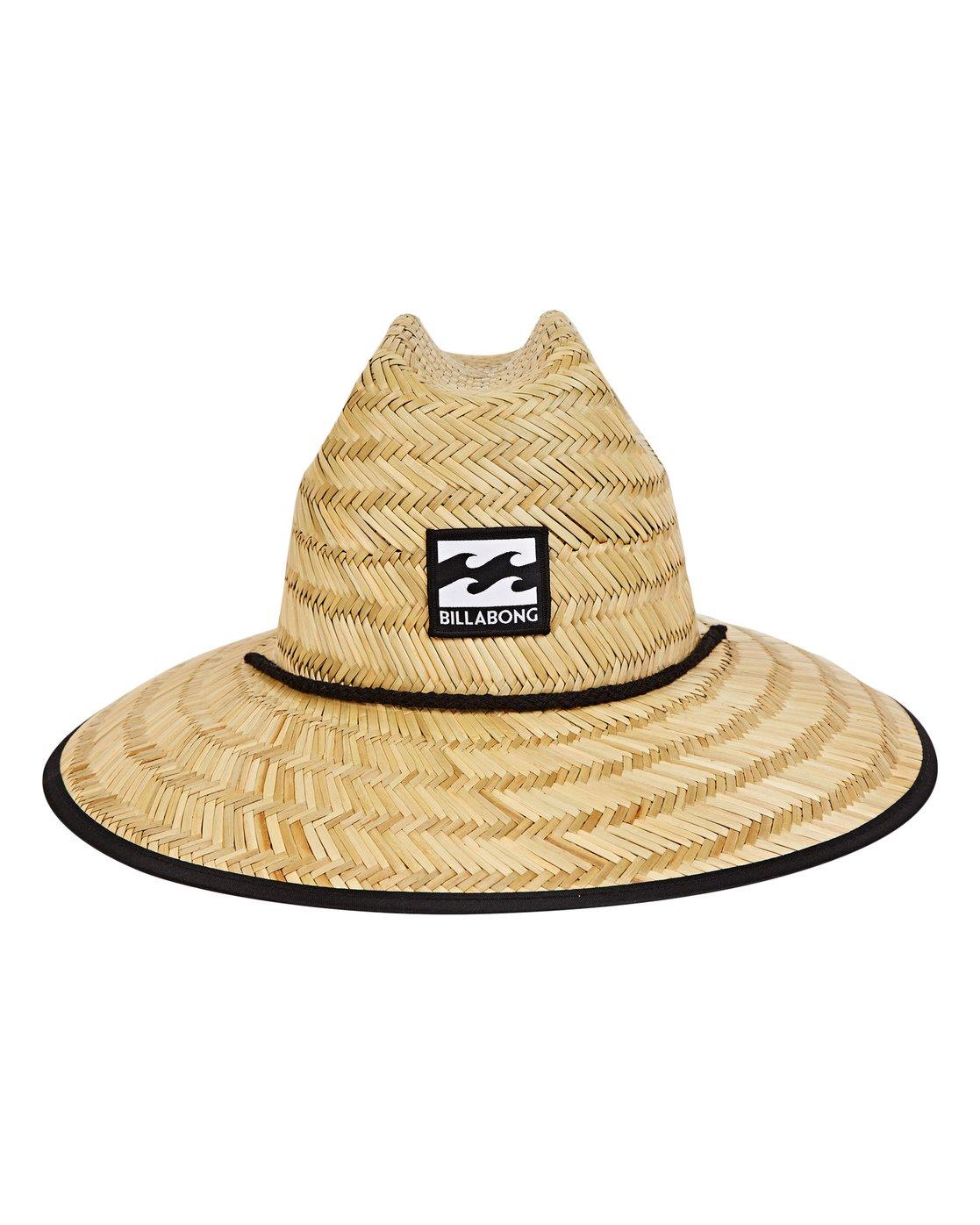 fa36ff932c1d3 1 Boys  Tides Straw Hat Beige BAHWNBTI Billabong