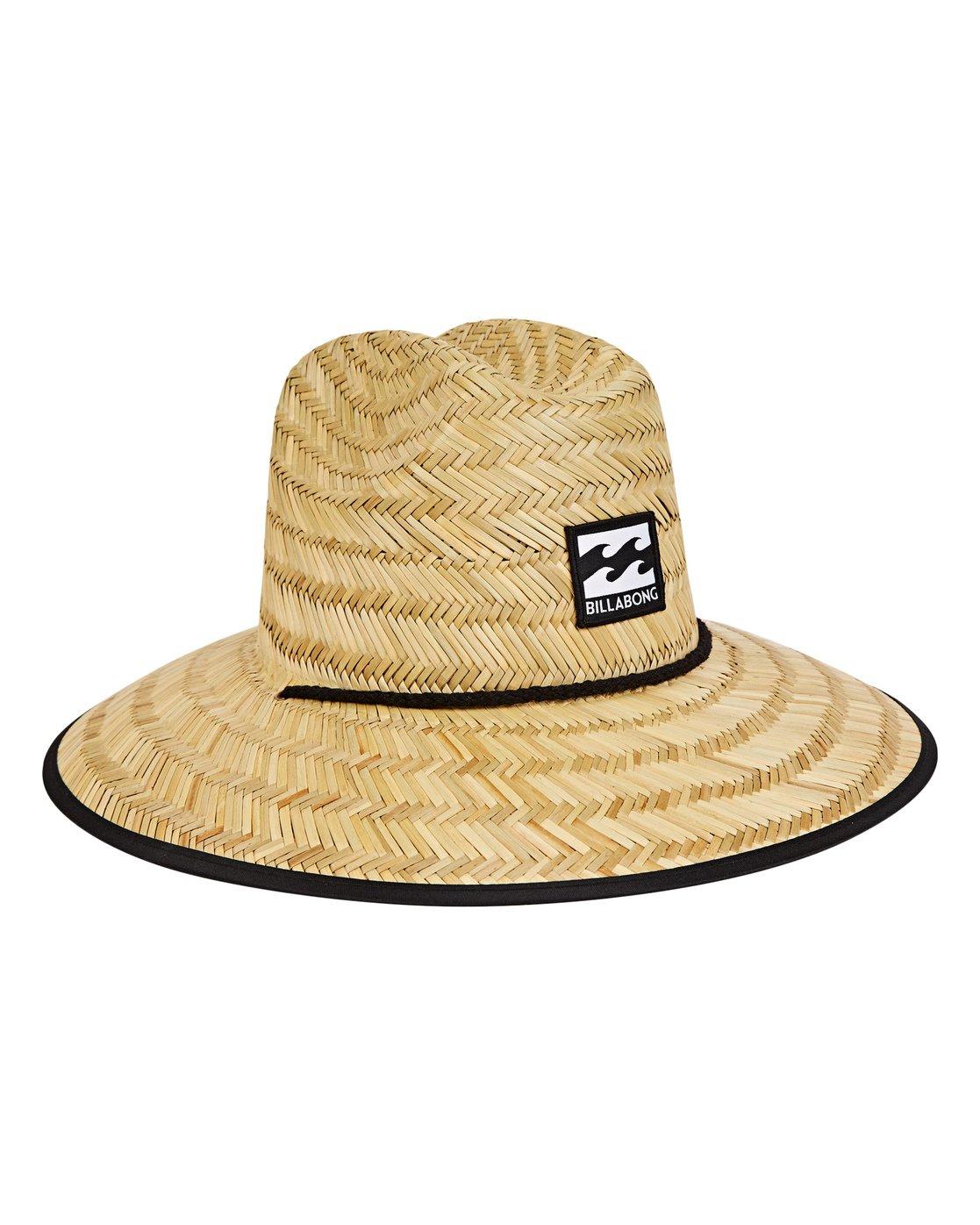 d5d4ff9b97a0d 2 Boys  Tides Straw Hat Beige BAHWNBTI Billabong