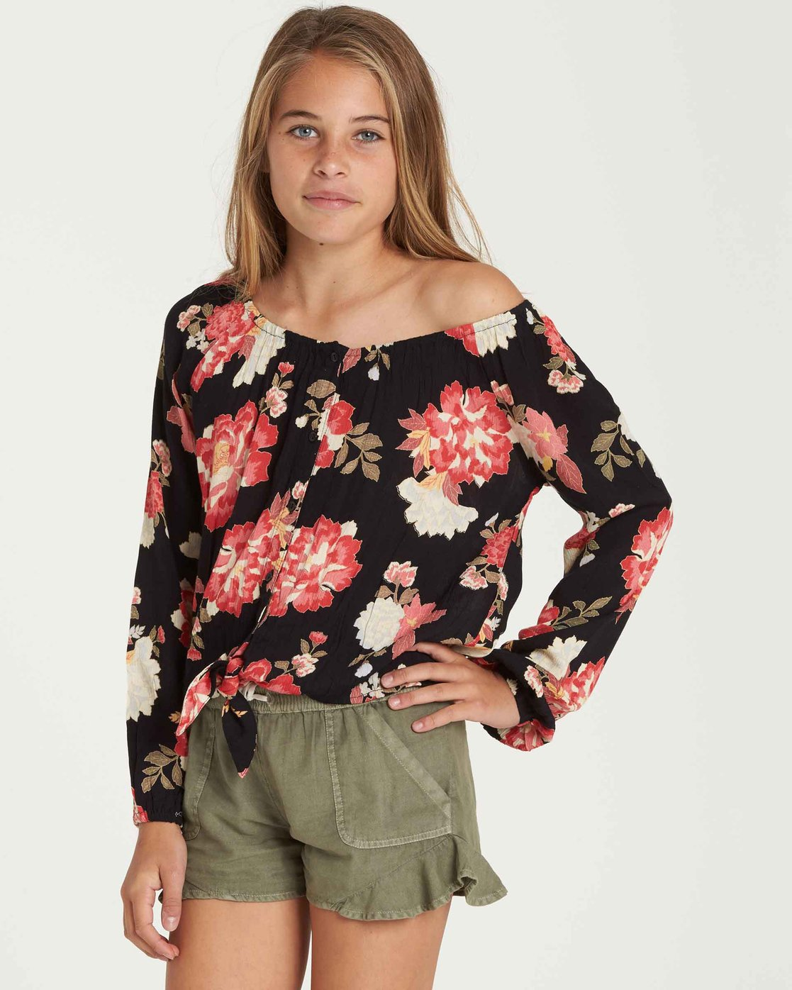 Billabong Girls Girls For The Ages Top