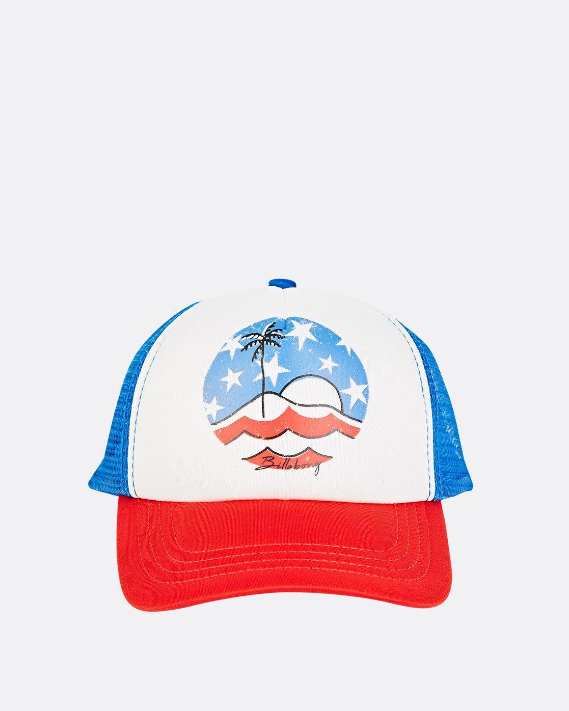 073a206b 1 Girls' Ohana Trucker Hat Red GAHWQBOH Billabong