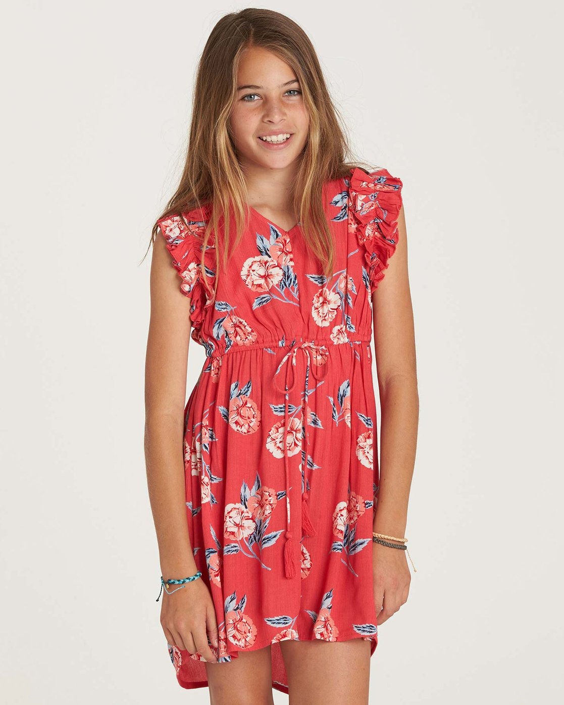 red billabong dress
