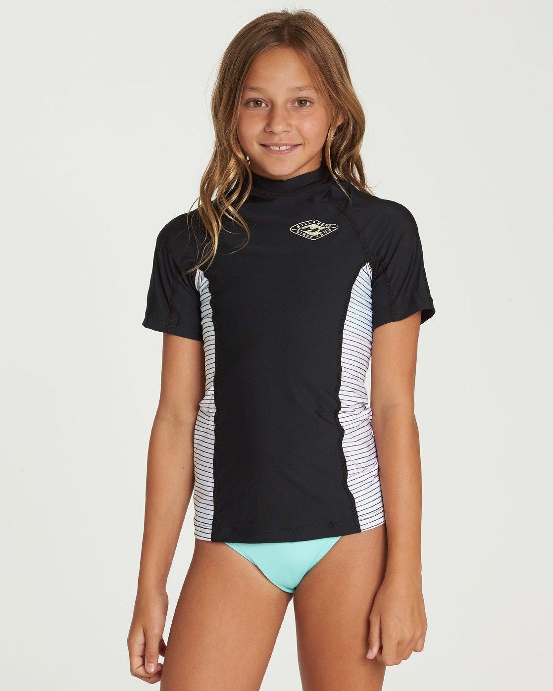 Billabong Girls Surf Dayz Short Sleeve Rashguard