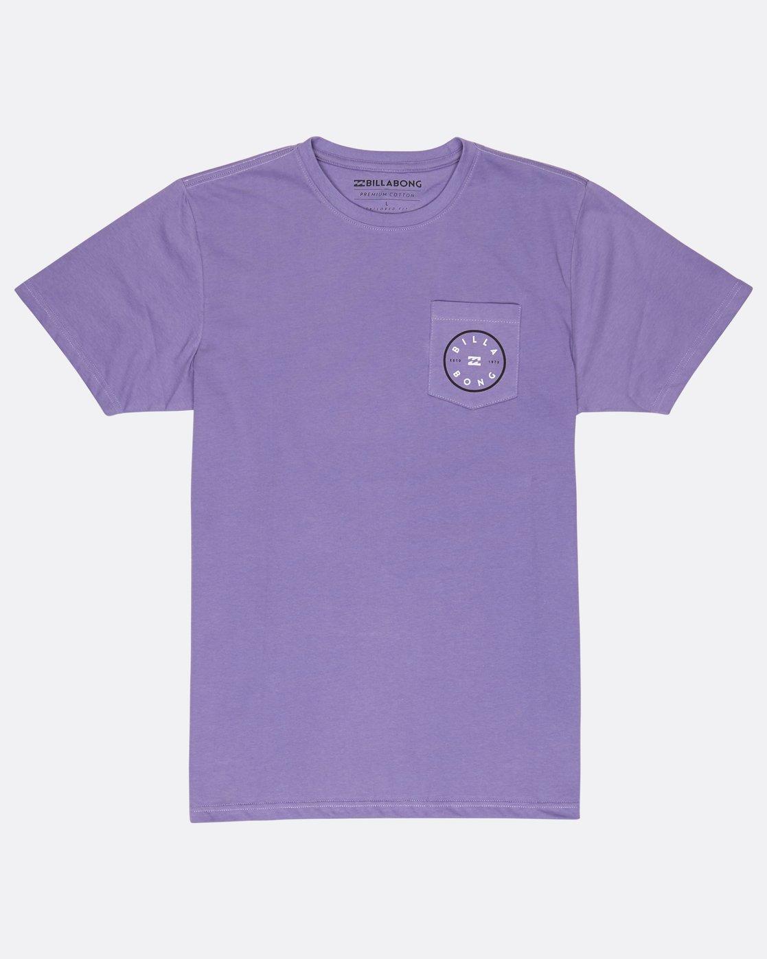 a3dddfe40da40 0 Piston T-Shirt Violett H1SS03BIP8 Billabong