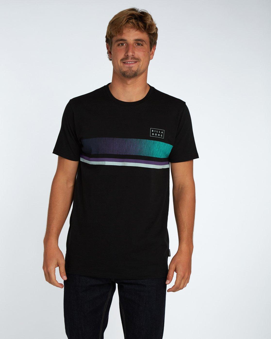 BILLABONG Mens Team Wave Tee Ss T-Shirt