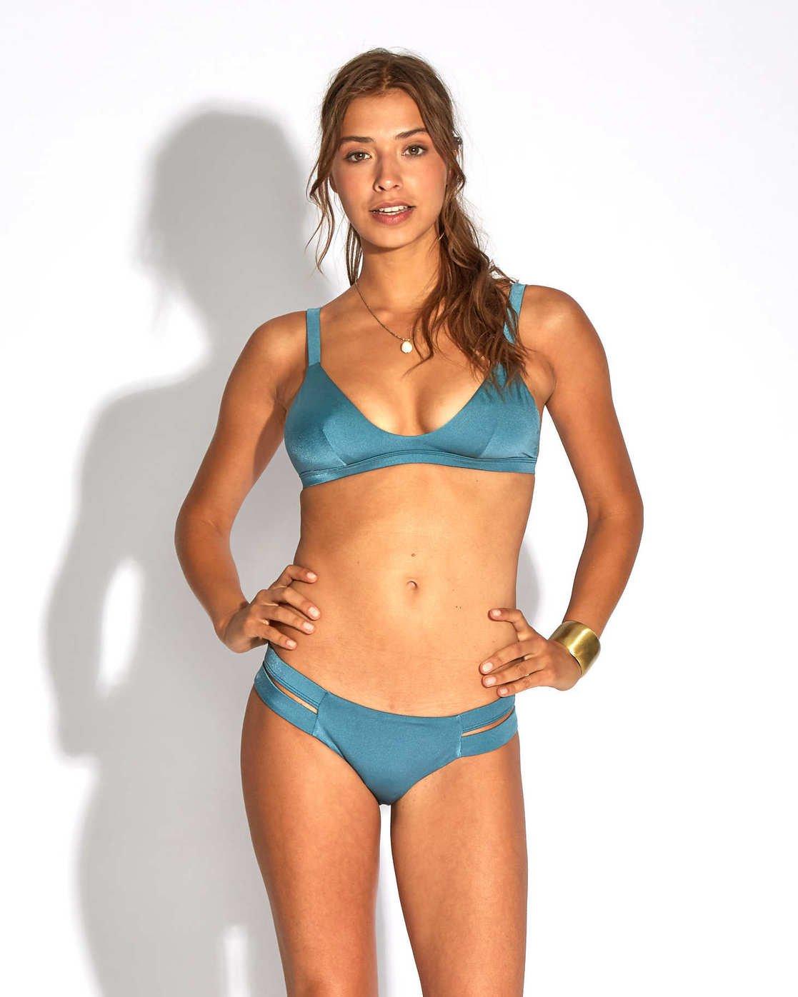 edc3a08727ec4 0 Sol Searcher Fixed Triangle Bikini Top Blue H3ST02BIP8 Billabong