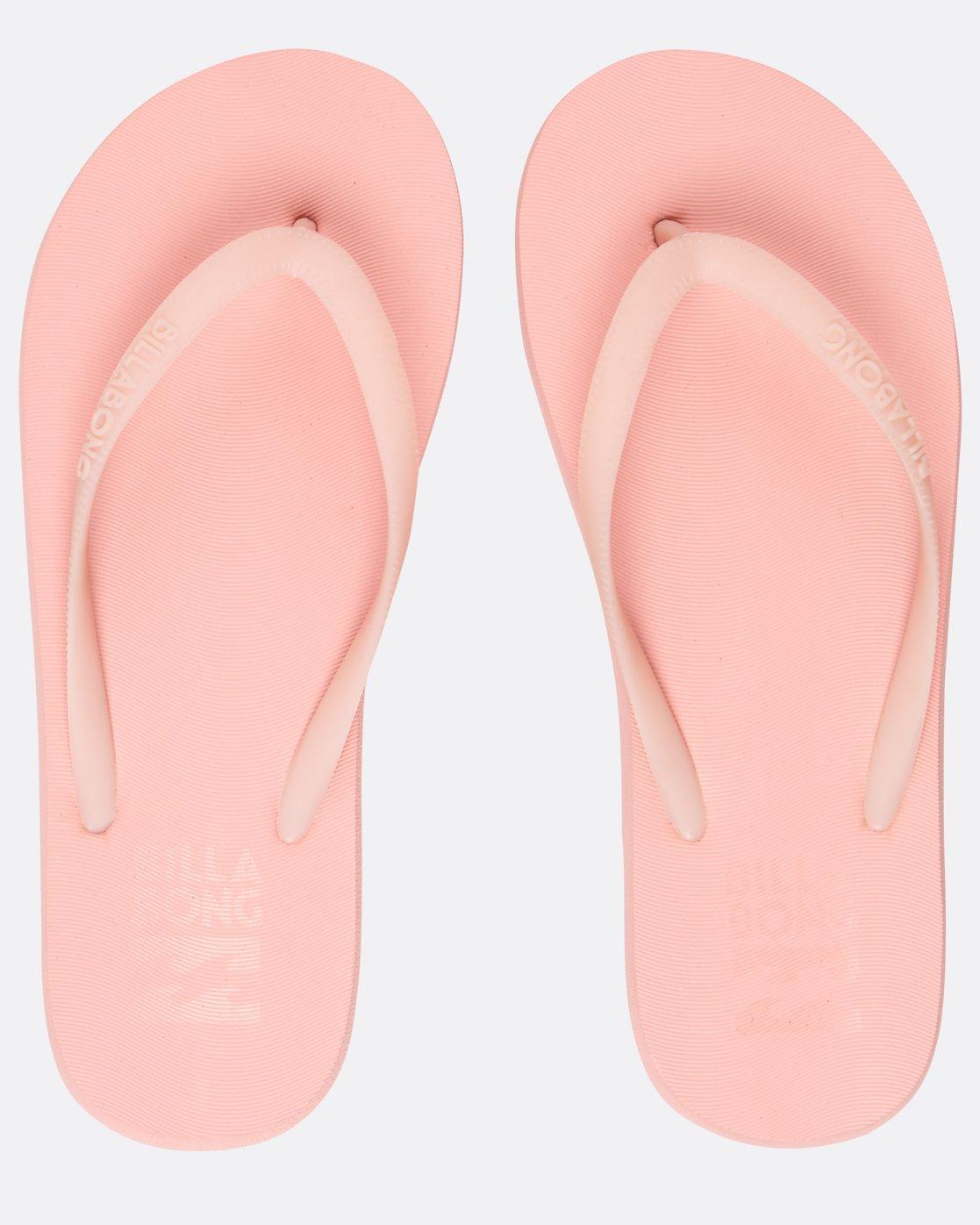 Billabong Sunlight Flip Flops Ladies Flip Flops Peach