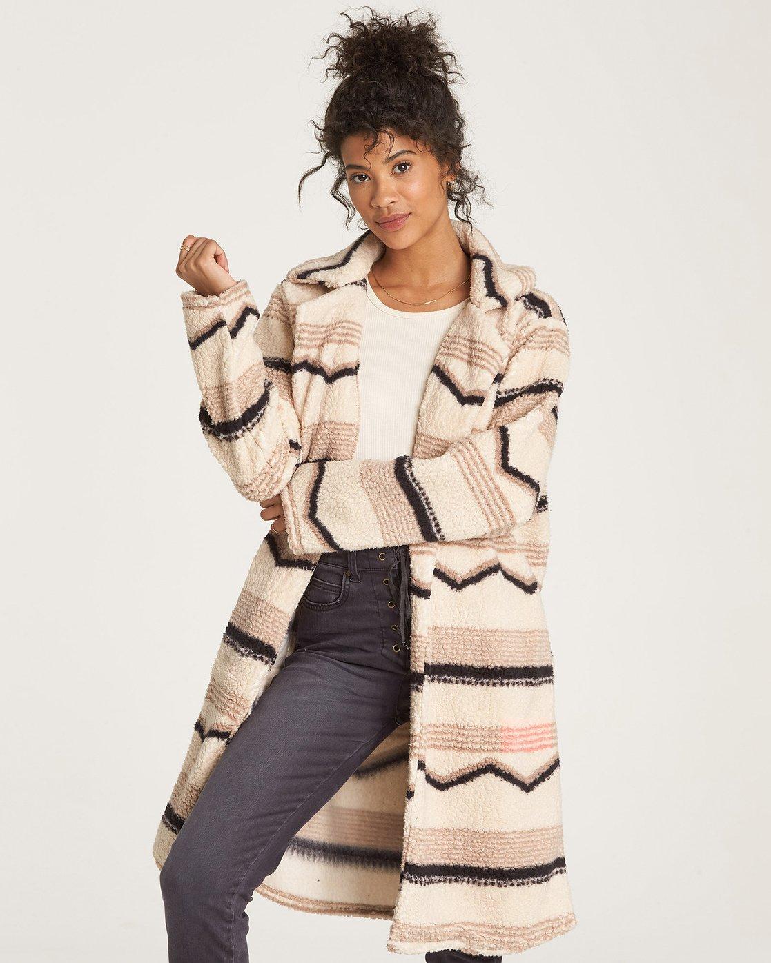 Montreal Longline Fleece Jacket