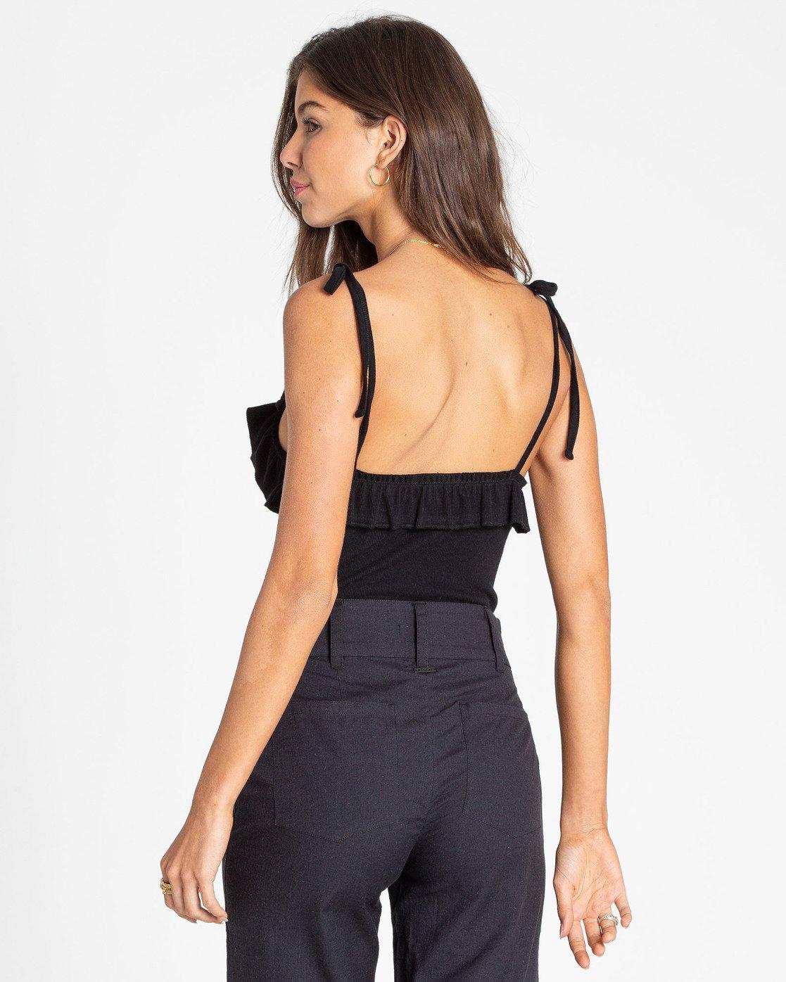 Billabong Womens Marbella Dream Bodysuit Black Small