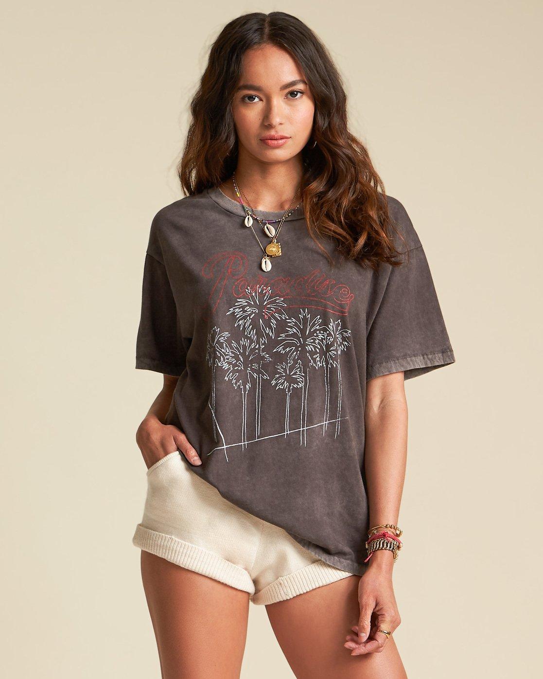 Billabong Womens Sincerely Jules Worn Away T-Shirt