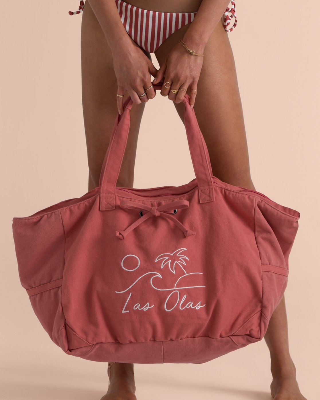 Sincerely Jules Las Olas Canvas Tote Bag