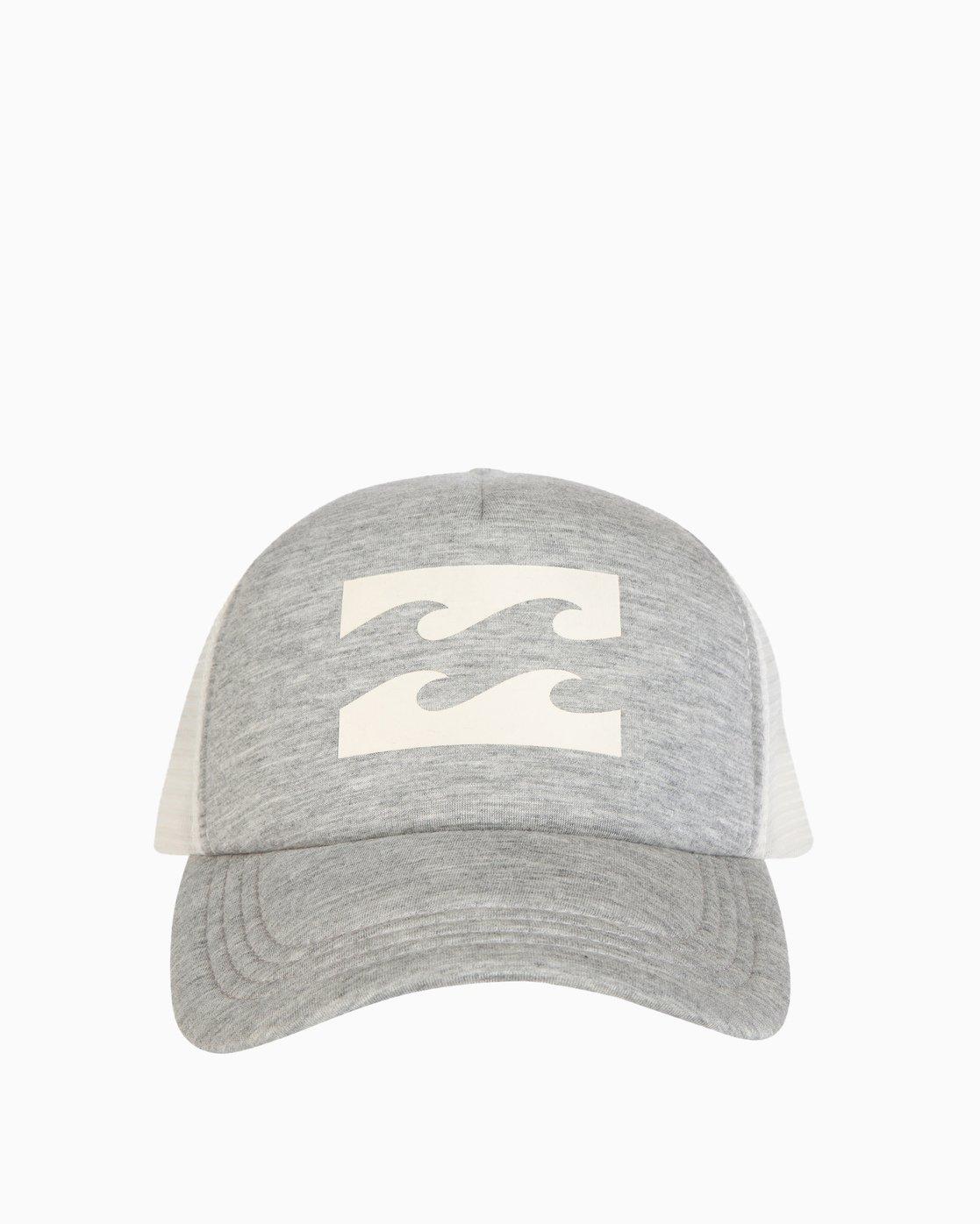 69bc71b052cff 1 Billabong Trucker Hat Grey JAHTDBIL Billabong