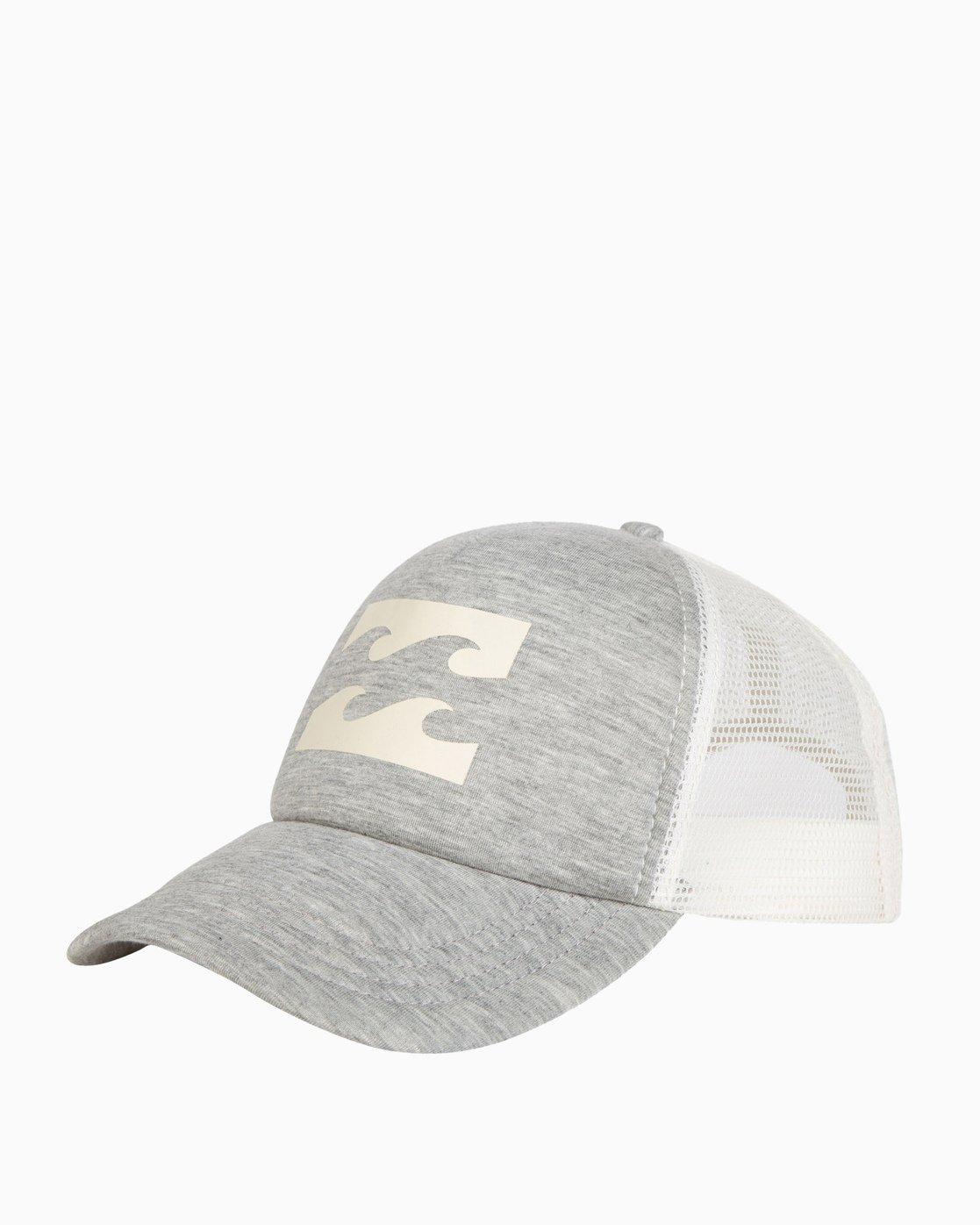 2bc1133e56a2e 0 Billabong Trucker Hat Grey JAHTDBIL Billabong